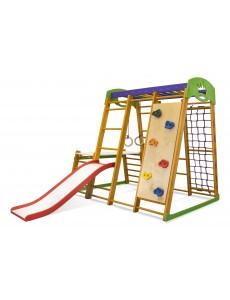 Options: Slide platform + climbing wall